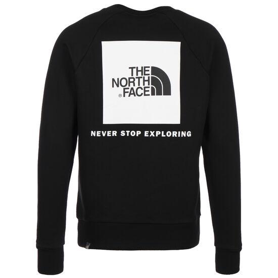 Raglan Red Box Crew Sweatshirt Herren, schwarz / weiß, zoom bei OUTFITTER Online