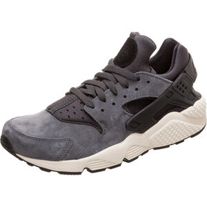 Air Huarache Run Premium Sneaker Herren, anthrazit / schwarz, zoom bei OUTFITTER Online