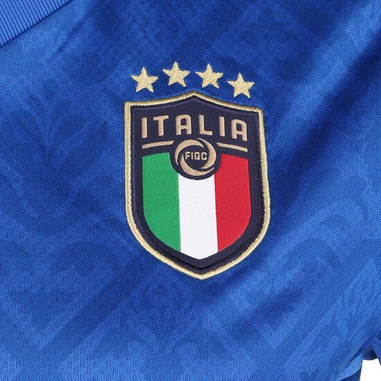 Italien Trikot Home EM 2021 Kinder, blau / dunkelblau, zoom bei OUTFITTER Online