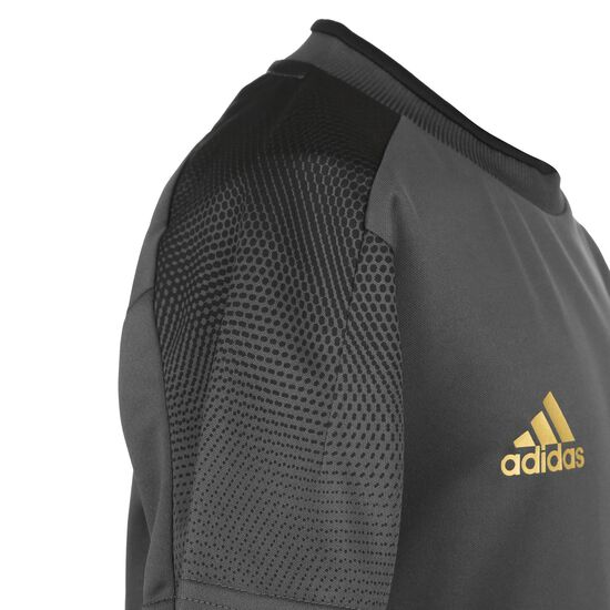 Football-Inspired X Aeroready Trainingsshirt Kinder, dunkelgrau / grau, zoom bei OUTFITTER Online