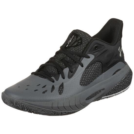 HOVR Havoc 3 Basketballschuh Herren, grau / schwarz, zoom bei OUTFITTER Online