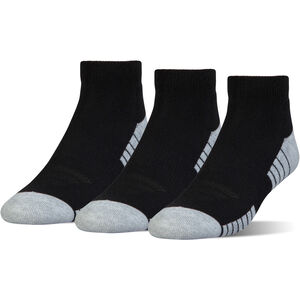 Heatgear Tech Basketballsocken 3er Pack, schwarz, zoom bei OUTFITTER Online