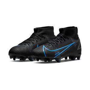 Mercurial Superfly 8 Academy DF MG Fußballschuh Kinder, schwarz / blau, zoom bei OUTFITTER Online