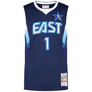 NBA All Star #1 Allen Iverson Classic Swingman Basketballtrikot Herren, dunkelblau / weiß, zoom bei OUTFITTER Online