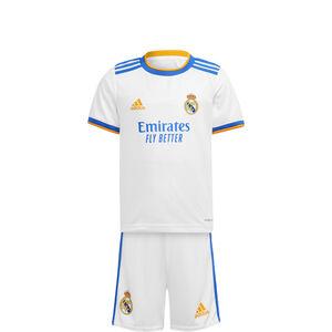 Real Madrid Minikit Home 2021/2022 Kleinkinder, weiß / blau, zoom bei OUTFITTER Online