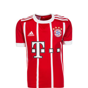 FC Bayern München Trikot Home 2017/2018 Kinder, Rot, zoom bei OUTFITTER Online