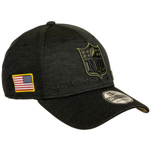 NFL Logo 39Thirty Salute to Service Cap, schwarz, zoom bei OUTFITTER Online
