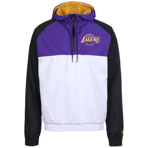NBA Los Angeles Lakers Hooded Windbreaker Herren, weiß / lila, zoom bei OUTFITTER Online