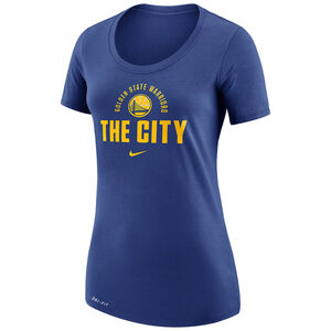 NBA Golden State Warriors T-Shirt Damen, blau, zoom bei OUTFITTER Online