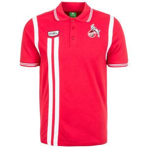 1. FC Köln Retro Poloshirt Herren, Rot, zoom bei OUTFITTER Online