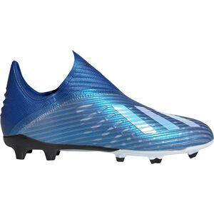 X 19+ FG Fußballschuh Kinder, blau / weiß, zoom bei OUTFITTER Online
