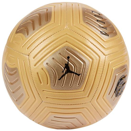 Paris St.-Germain Strike Fußball, gold / schwarz, zoom bei OUTFITTER Online