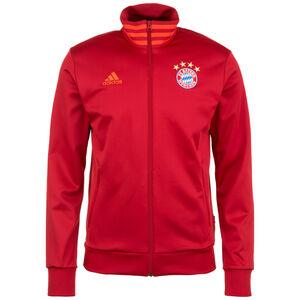 FC Bayern München 3-Streifen Trainingsjacke Herren, rot / orange, zoom bei OUTFITTER Online