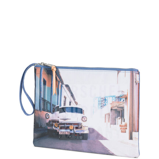Network Pouch Large Tasche, bunt / lila, zoom bei OUTFITTER Online