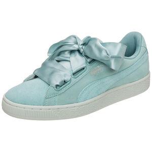 Suede Heart Pebble Sneaker Damen, Grün, zoom bei OUTFITTER Online