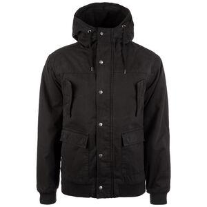 Hooded Cotton Jacke Herren, schwarz, zoom bei OUTFITTER Online
