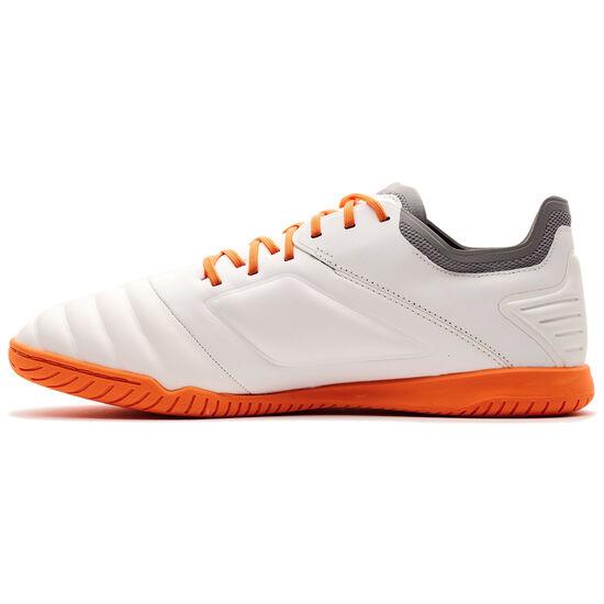 Tocco Club Indoor Fußballschuh Herren, weiß / orange, zoom bei OUTFITTER Online