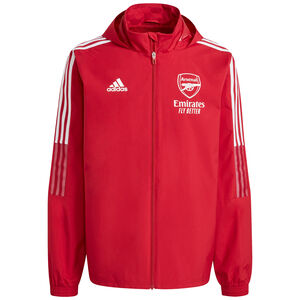 FC Arsenal All Weather Jacke Herren, rot / weiß, zoom bei OUTFITTER Online