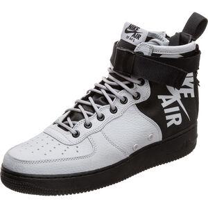 SF Air Force 1 Mid Sneaker Herren, hellgrau / schwarz, zoom bei OUTFITTER Online