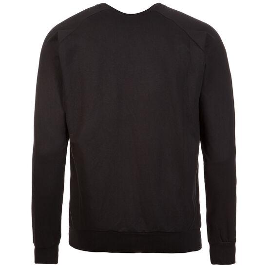 Cotton Logo Sweatshirt Herren, schwarz / weiß, zoom bei OUTFITTER Online