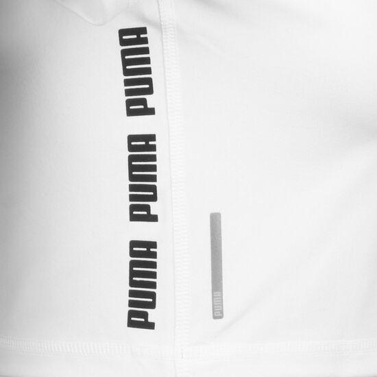 Feel It Crop Trainingsshirt Damen, weiß / silber, zoom bei OUTFITTER Online
