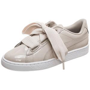 Basket Heart Patent Sneaker Damen, weiß / silber, zoom bei OUTFITTER Online