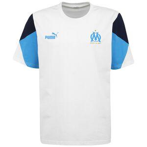 Olympique Marseille FtblCulture T-Shirt Herren, weiß / blau, zoom bei OUTFITTER Online