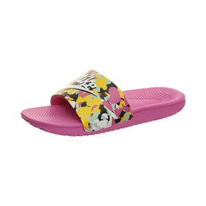 Kawa Slide Badesandale Kinder, violett / bunt, zoom bei OUTFITTER Online