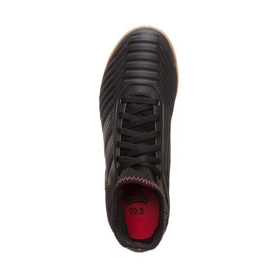 Predator 19.3 Indoor Fußballschuh Kinder, schwarz / rot, zoom bei OUTFITTER Online