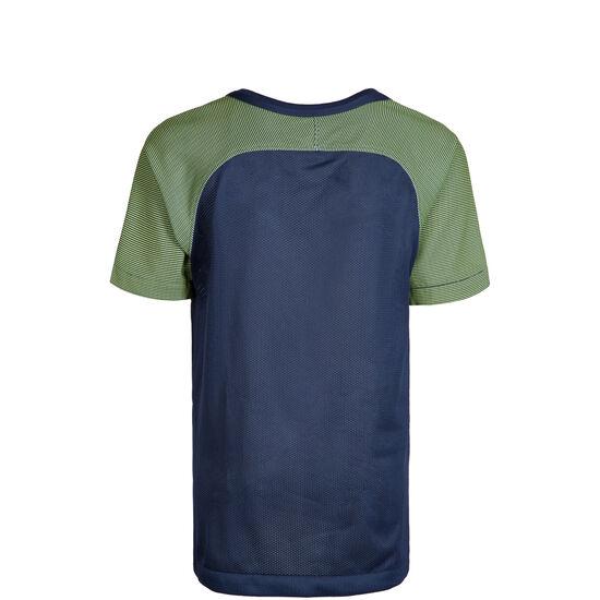 Dry Revolution Trainingsshirt Kinder, dunkelblau / grün, zoom bei OUTFITTER Online