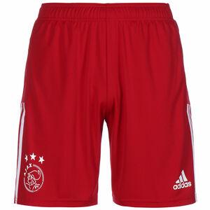 Ajax Amsterdam Trainingsshorts Herren, rot / weiß, zoom bei OUTFITTER Online