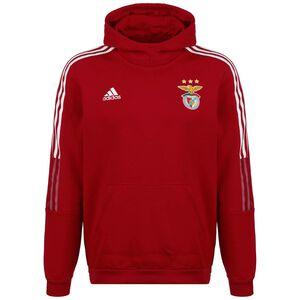 Benfica Lissabon Kapuzenpullover Herren, rot / weiß, zoom bei OUTFITTER Online