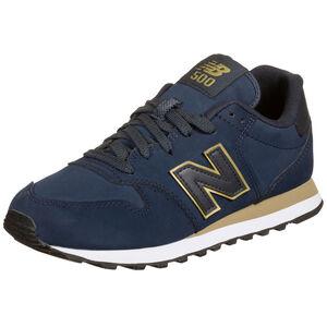 GW500-B Sneaker Damen, blau / gold, zoom bei OUTFITTER Online