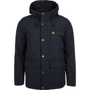 Micro Fleece Lined Kapuzenjacke Herren, dunkelblau, zoom bei OUTFITTER Online