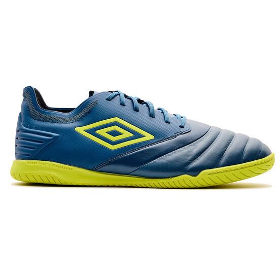 Tocco Club Indoor Fußballschuh Herren, petrol / gelb, zoom bei OUTFITTER Online