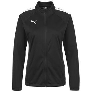 TeamLIGA Trainingsjacke Damen, schwarz / weiß, zoom bei OUTFITTER Online