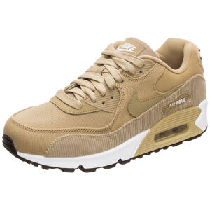 Air Max 90 Leather Sneaker Damen, Beige, zoom bei OUTFITTER Online