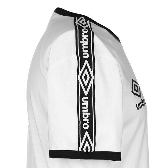 Ringer Trainingsshirt Herren, weiß / schwarz, zoom bei OUTFITTER Online