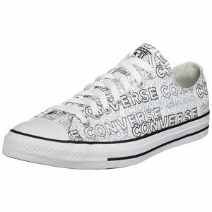 Chuck Taylor All Star Wordmark Graphic High Sneaker, weiß / schwarz, zoom bei OUTFITTER Online