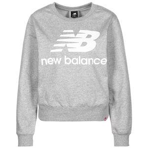 Essentials Crew Sweatshirt Damen, grau / weiß, zoom bei OUTFITTER Online