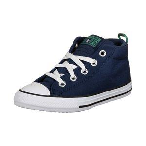 Chuck Taylor All Star Street Mini Wordmark Sneaker Kinder, blau, zoom bei OUTFITTER Online