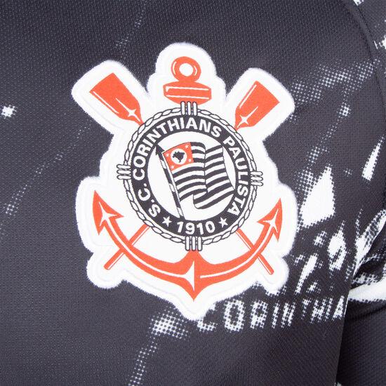 SC Corinthians Paulista Trikot 3rd Stadium 2019/2020 Herren, schwarz / weiß, zoom bei OUTFITTER Online