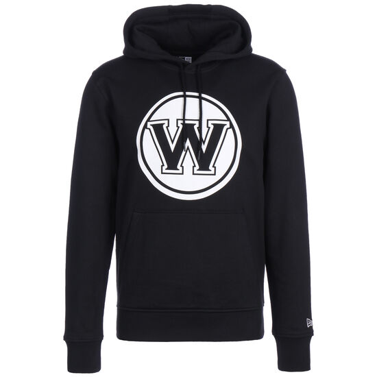 NBA Warriors Team Apparell Hoodie Herren, schwarz / weiß, zoom bei OUTFITTER Online