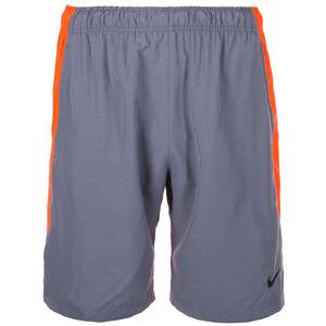 Flex Woven Trainingsshort Herren, graublau / orange, zoom bei OUTFITTER Online