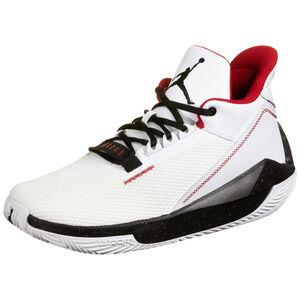Jordan 2X3 Basketballschuh Herren, weiß / schwarz, zoom bei OUTFITTER Online