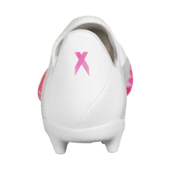 X 19.3 FG Fußballschuh Kinder, weiß / pink, zoom bei OUTFITTER Online