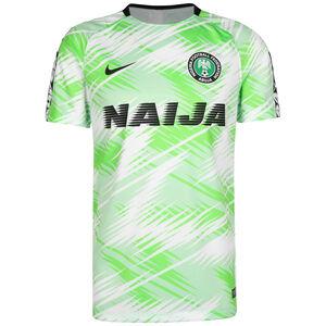 Nigeria Dry Squad Trainingsshirt Herren, weiß / grün, zoom bei OUTFITTER Online