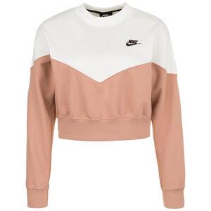 Heritage Crew Fleece Sweatshirt Damen, altrosa / beige, zoom bei OUTFITTER Online