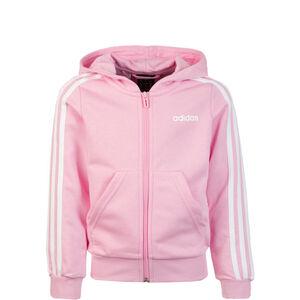 Essentials 3 Stripes Kapuzenjacke Kinder, rosa / weiß, zoom bei OUTFITTER Online