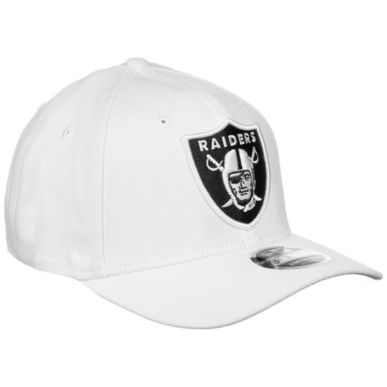 9FIFTY NFL Stretch Oakland Raiders Snapback Cap, weiß / schwarz, zoom bei OUTFITTER Online